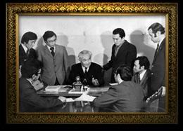 2.Байқоныров Ө.А. Тау кен-металлургия институтының директоры. 1952 ж.