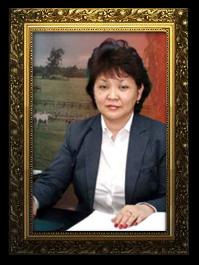 «Цин-Каз» ЖШС компанияның Басқарушы директоры – Мұқашева Алма Сабырбекқызы